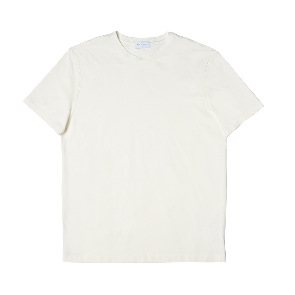 Xinjiang Cotton Basic Round T-Shirt
