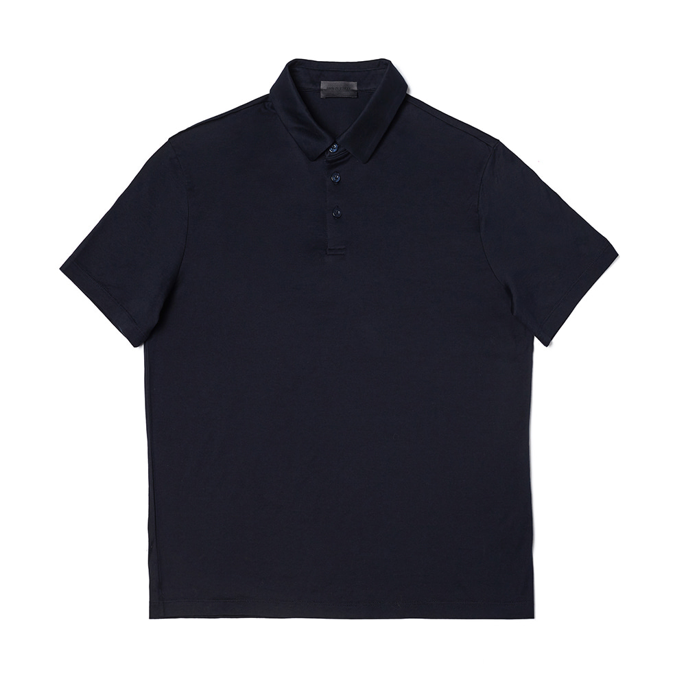 Silket Cotton Short Sleeve Polo Shirt